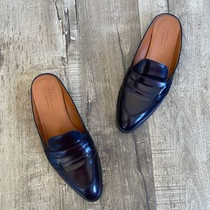 Everlane Modern Slip On Penny Loafer Burgundy 7.5